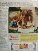 Friskies Collie and Small Boy Ad 1965