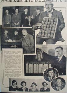 Prairie Farmer Agricultural Conference Ad 1931