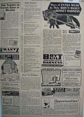 Boyt Built Harness Extra Wear Ad 1930