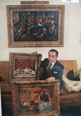 Edward G Robinson And Paintings Picture 1957