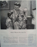 Listerine Habits Worth Holding To Ad 1945