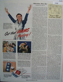 Vimms Vitamins Get That Vimms Feeling Ad 1944