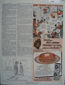 Aunt Jemima Moms Training Table Ad 1943