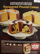 Duncan Hines Pampered Pound Cakes Ad 1967