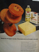 Mazola Oil Pollyunsaturates Are The Plus Ad 1967