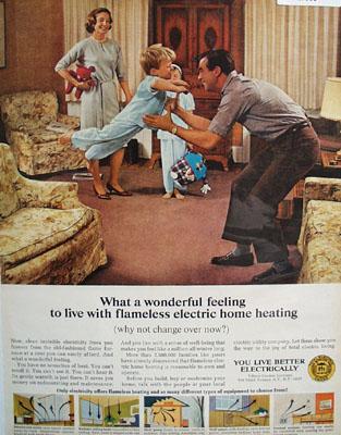 Edison Electric Institute Wonderful Feeling Ad 1966