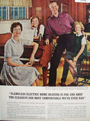 Electric Home Heating And Ed Stansfield Ad 1965