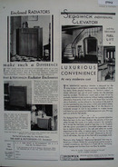 Hart Hutchinson Radiator Enclosures Ad 1931