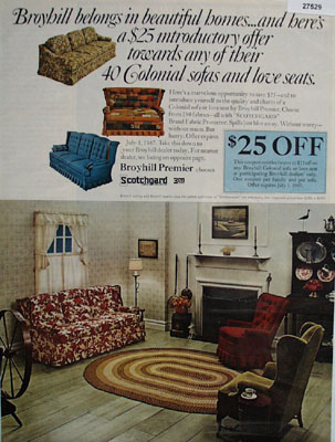 Broyhill Furniture Belongs In Beautiful Homes Ad 1967