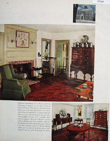 Nelson Miller Home With Antiques Picture 1965