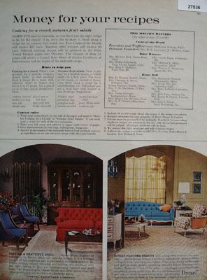 Drexel Furniture Sunlit Flooded Beauty Ad 1961