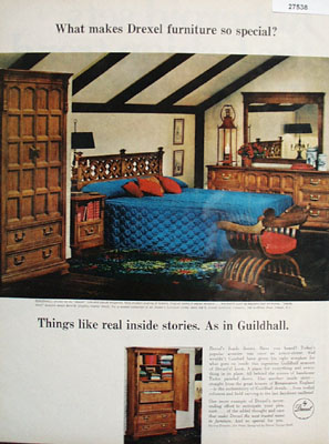 Drexel Furniture Is Special Ad 1967