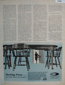 Keller Furniture Seating Four Ad 1966