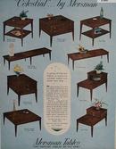 Mersman Tables Galaxy of Nine Ad 1961