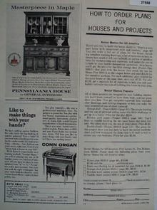 Pennsylvania House Masterpiece In Maple Ad 1963