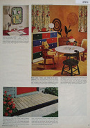 Paint Table Chairs Chest Article And Picture 1965