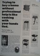 Cigarette And Wine Tables Ad 1966