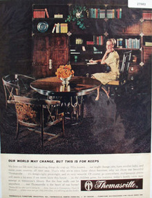 Thomasville Furniture World May Change Ad 1965