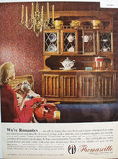 Thomasville Furniture We Are Romantics Ad 1965