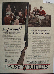Daisy Air Rifles Most Popular Ad 1930
