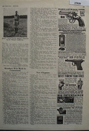 Johnson Smith Co Blank Cartridge Pistol Ad 1932