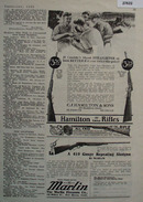 Hamilton Rifle Couldnt Shoot Straighter Ad 1935