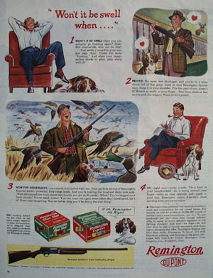 Remington Wont It Be Swell Ad 1944