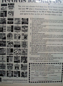 RCA Victor Record  Four For 98 Cents Ad  1964