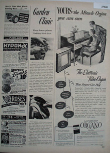Lowery Organ Yours You Can Own Ad 1951