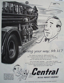 Central Mutual Ins. FireTrucks Ad