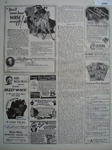 John Hancock Insurance You Will Hear Noise Ad 1926
