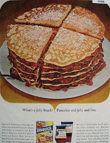 Bisquick Jelly Stack Ad 1965