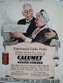 Calumet Baking Powder Cooks Prefer Ad 1927