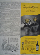 Heubleins Cocktails Do Not Grow On Trees Ad 1944