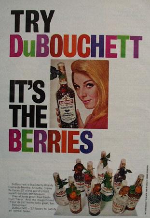 DuBouchett It Is The Berries Ad 1968