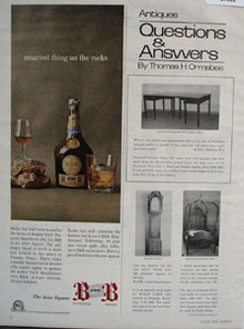 B and B Smartest Thing On The Rocks Ad 1966