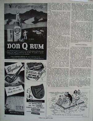 Don Q Rum You Appreciate Its Quality Ad 1944