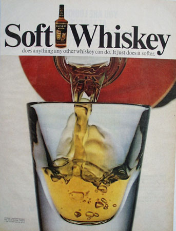 Calvert Soft Whiskey Ad 1964