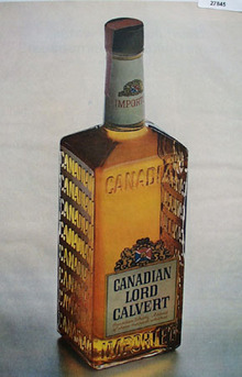 Canadian Lord Calvert Whiskey Ad 1964