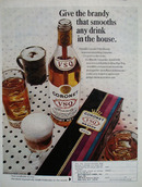 Coronet Whiskey Give The Brandy Ad 1968