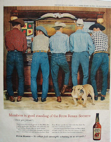 Four Roses Members In Good Standing Ad 1959