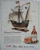 G & W Known for Generations Ad 1944