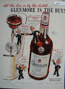 Glenmore Whiskey At The Bar Or By Bottle Ad 1942