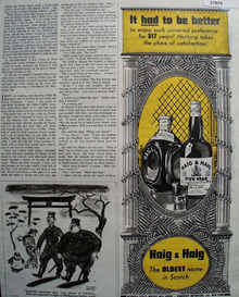 Haig and Haig Had To Be Better Ad 1944