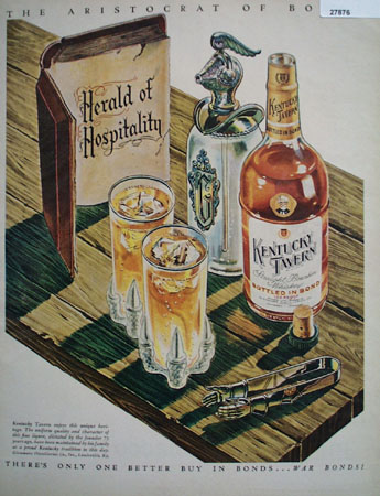 Kentucky Tavern Herald of Hospitality Ad 1944