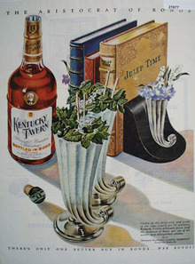 Kentucky Tavern Julep Time Ad 1945