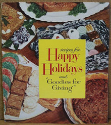 Goodies For Giving Cookbook 1950s to 1960s
