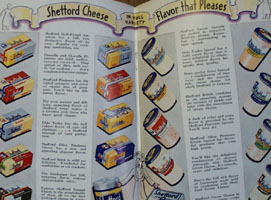 100 Shefford Cheese Recipes Cookbook 1938