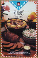 Flavorite Country Cooking Cook Off Cookbook 1987