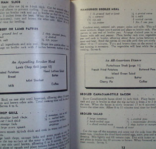 Easy Meat Recipes Cookbook 1946